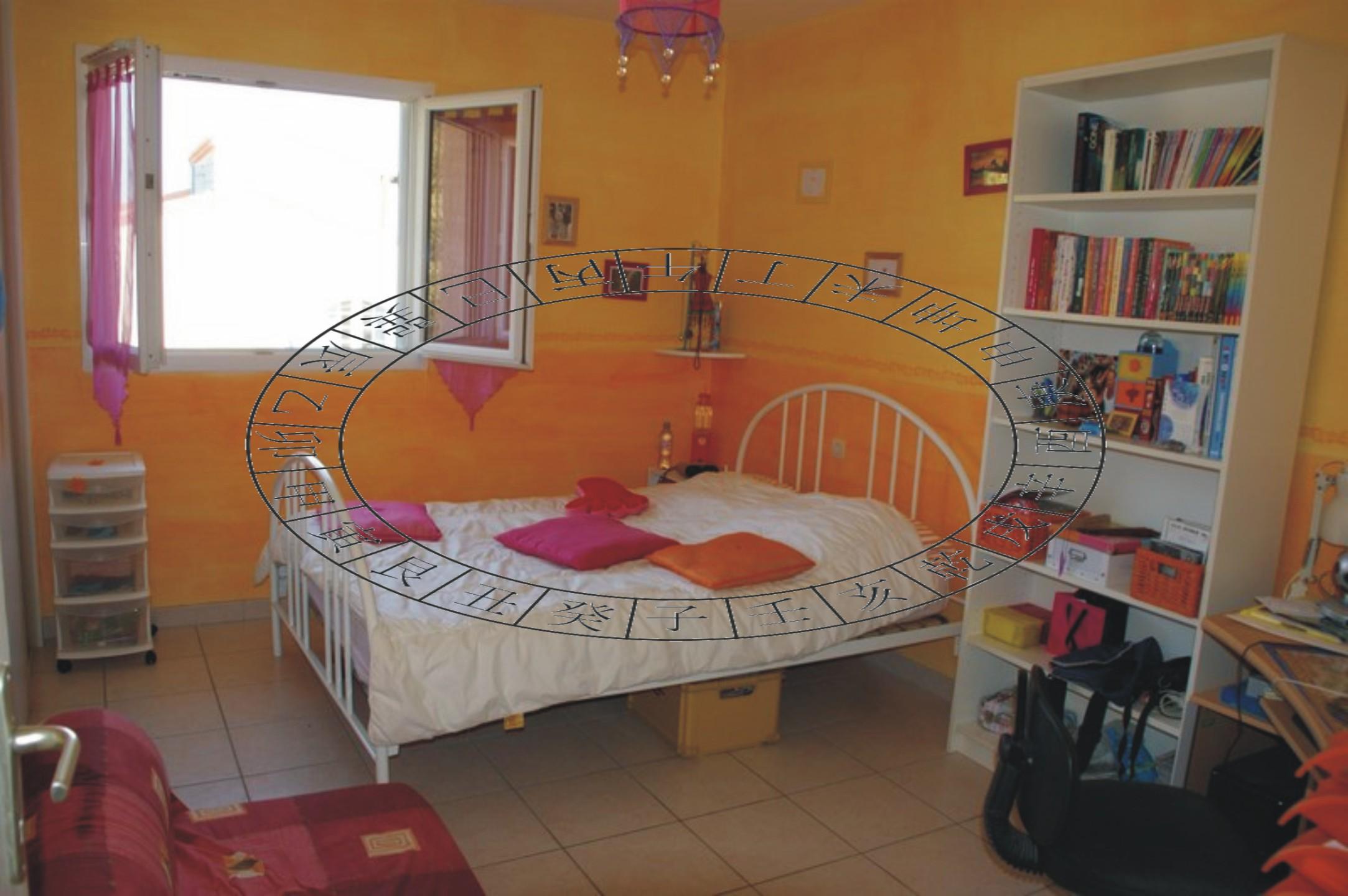 chambre feng shui et orientation du lit en fonction du feng shui. Black Bedroom Furniture Sets. Home Design Ideas