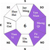 Feng Shui Ming Gua 6