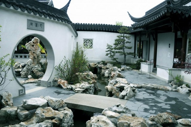 Maison Feng Shui avec eau