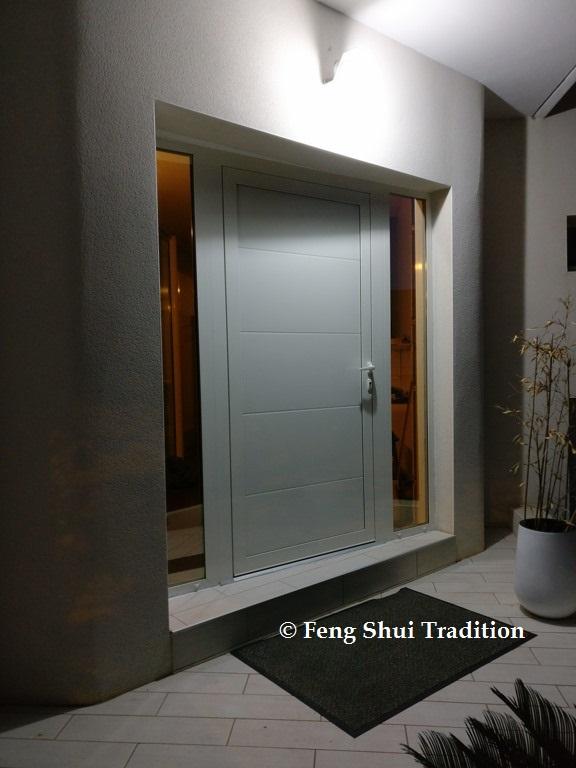 Porte d'entrée Feng Shui