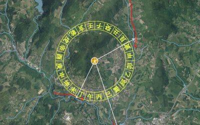 les 24 montagnes et lignes de vide en Feng Shui