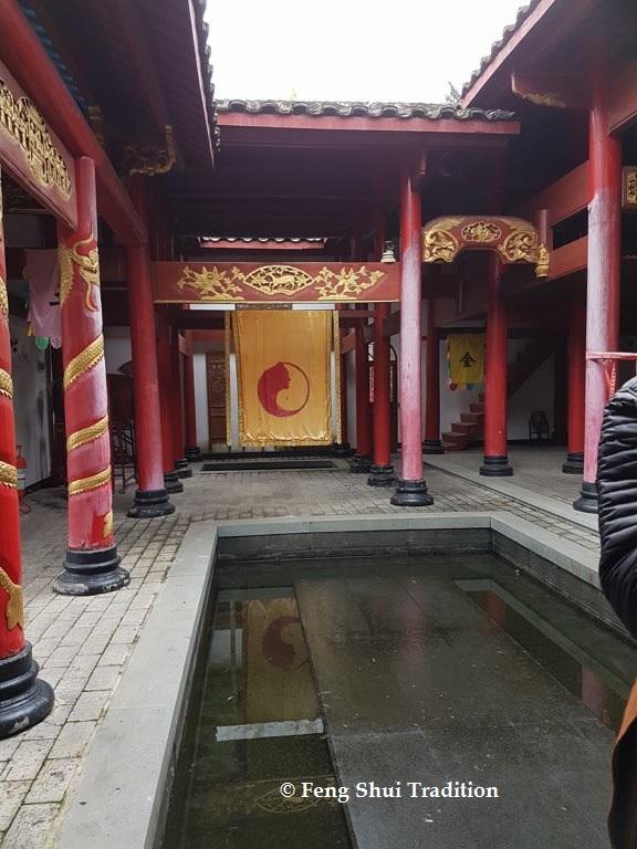 Bassin Feng Shui dans la maison
