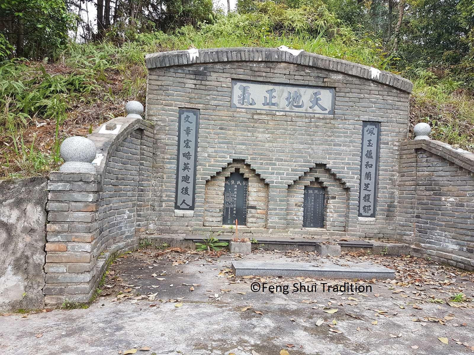Etude avec le Yang Gong Feng shui d'une tombe en Chine - Yin Feng Shui - Luc Torralba